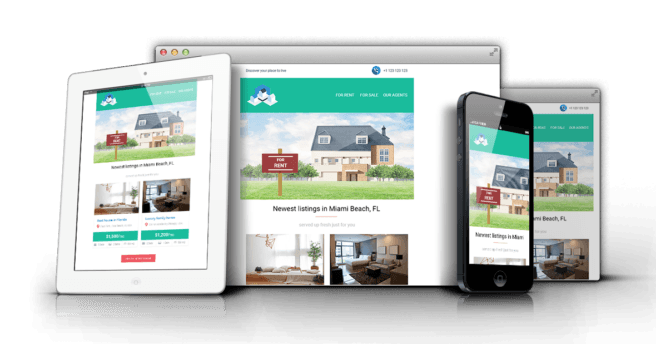 Gentmill Real Estate Responsive Email Template - Mailchimp & Campaign Monitor Ready