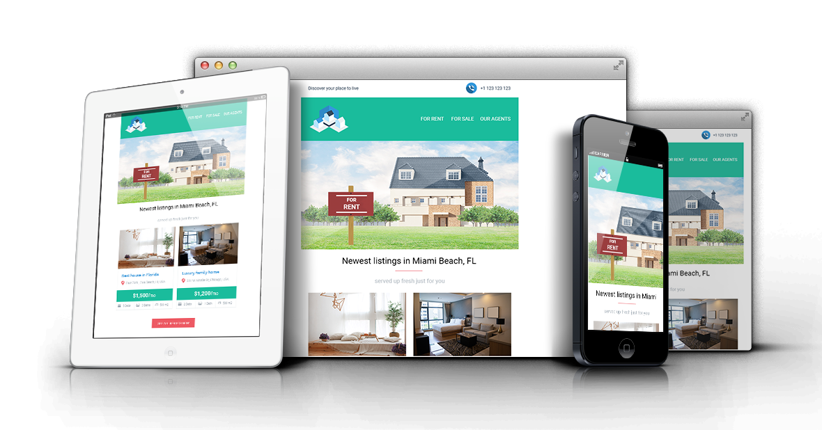 Gentmill Real Estate Responsive Email Template