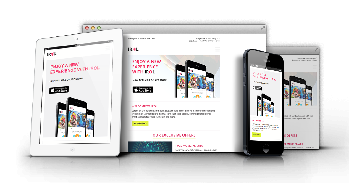 irol html email template