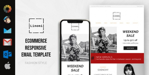 Linomi eCommerce HTML Email Template