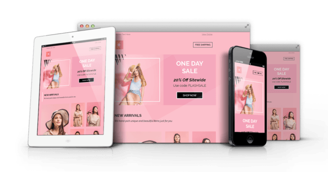 Glamer Flash Sale Email Template - Fashion Style Responsive MailChimp & Campaign Monitor Ready Newsletter Template