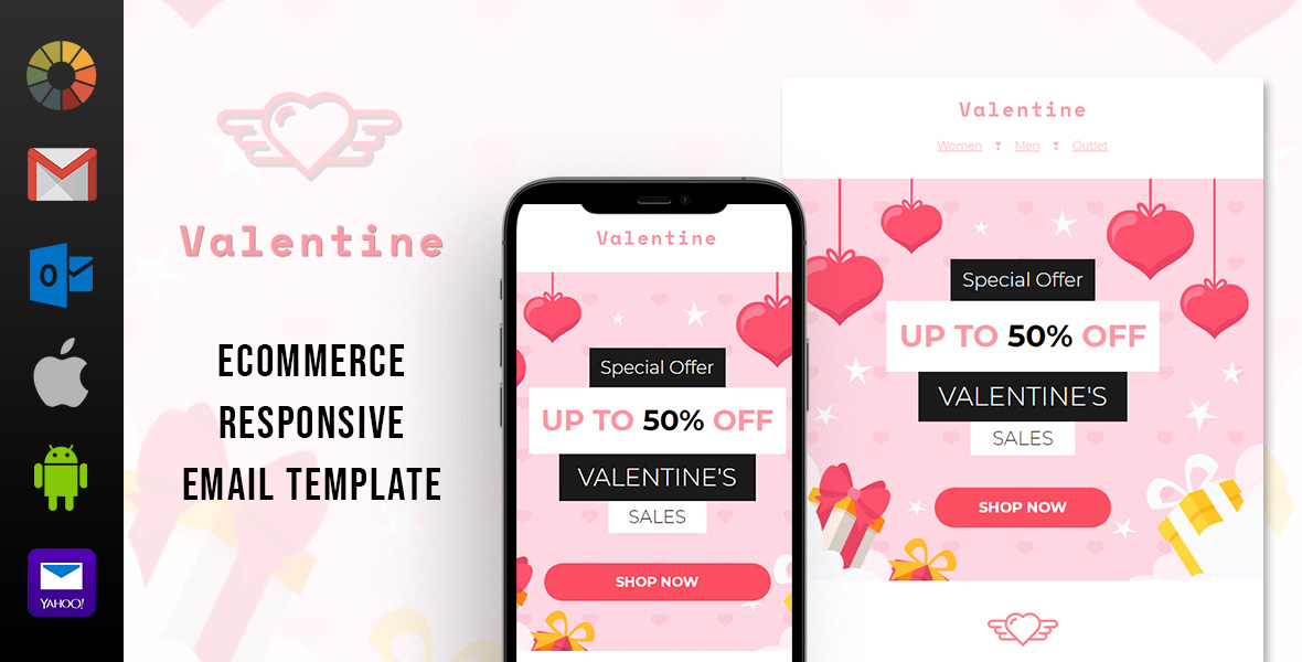 Valentine's Day Email Template