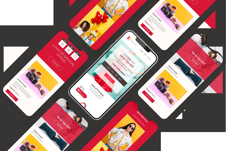 barzo e-commerce email template