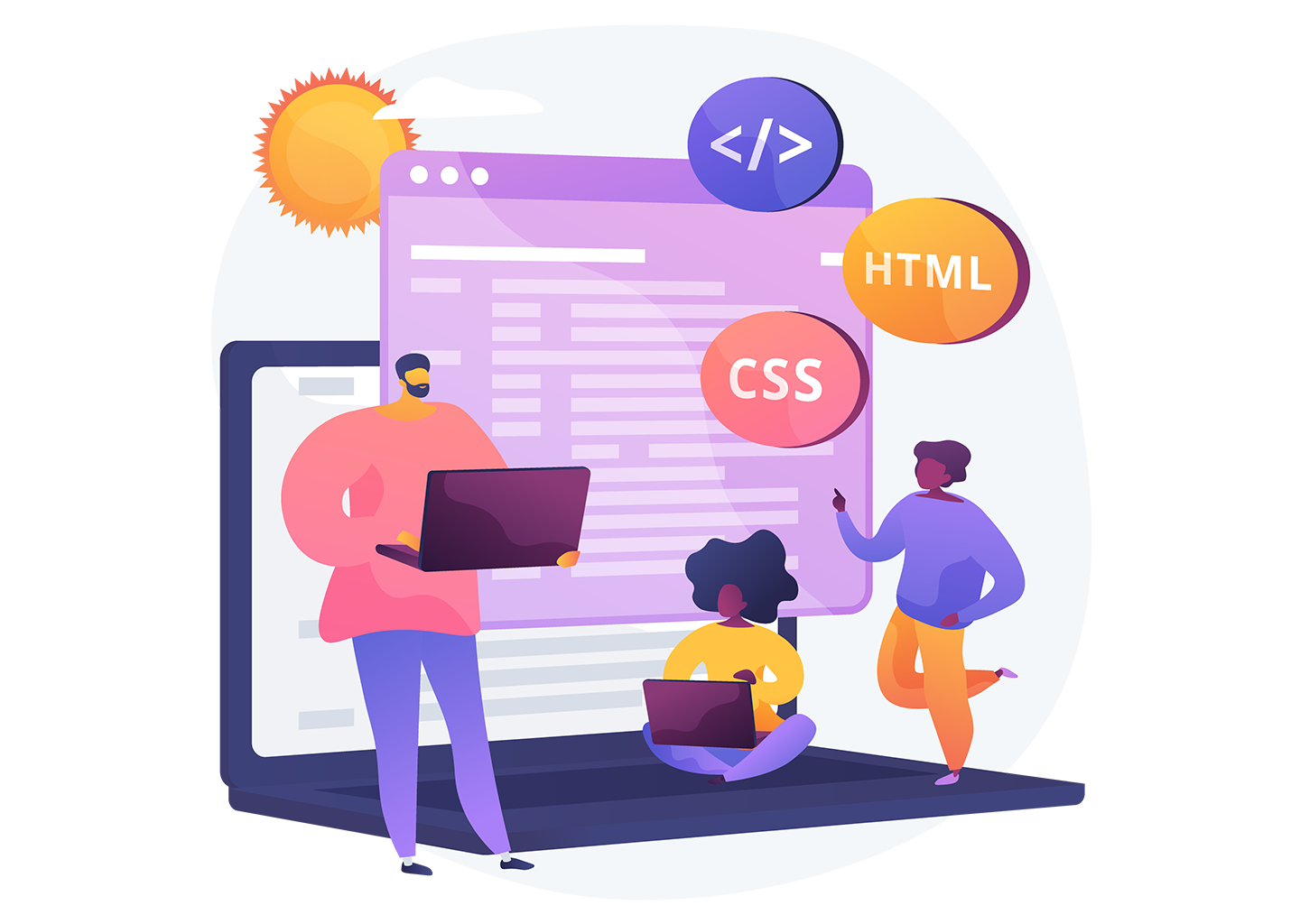 email coding services