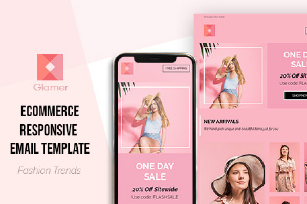 Glamer Flash Sale Email Template